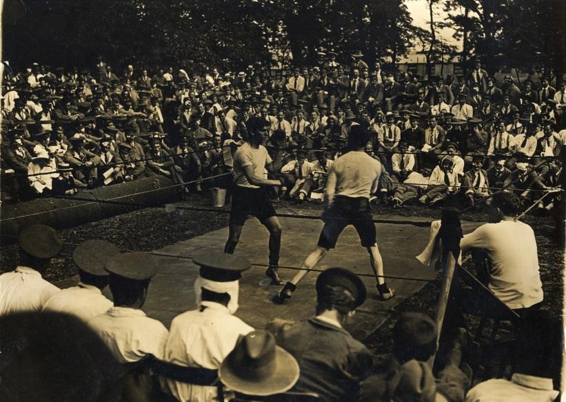 3rd London boxing match 1916